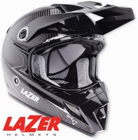 Lazer MX8 Pure Carbon Black Carbon - White